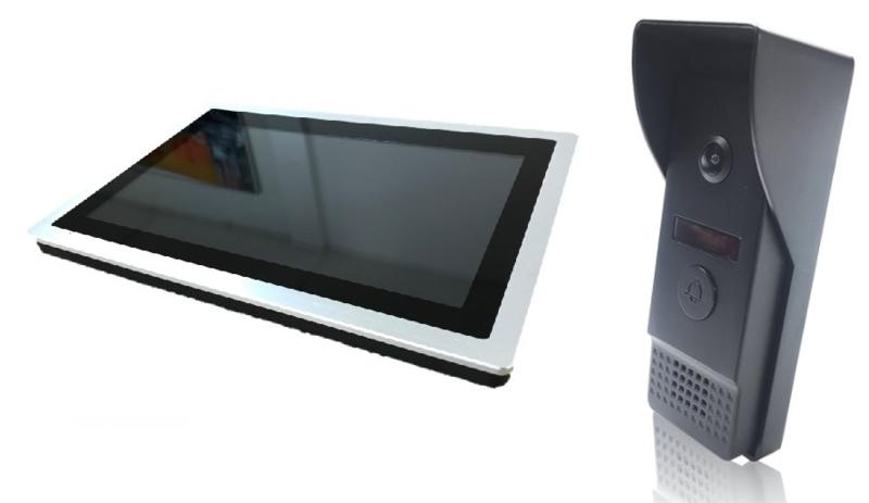 HB-10 Intercom met draad (10.1'' inch monitor met Touchscreen)
