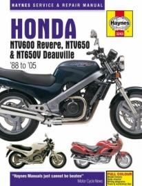 Honda NTV 600 Revere & 650 werkplaatsboek - Haynes manual