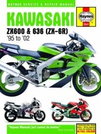 Werkplaatsboek Haynes Kawasaki ZX600 & 636 (ZX-6R)
