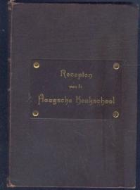 Recepten van de Haagsche Kookschool - Mej. A.C. Manden