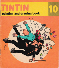 Tintin (Kuifje) - painting and drawing book nr 10