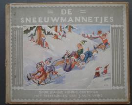 De sneeuwmannetjes - Jeanne Koning - Coeterier