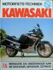 Motorfiets-techniek Kawasaki GPZ600R, GPX600R, ZZ-R600
