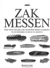 Zakmessen - Bernard Levine