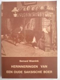 Herinneringen van een oude saksische boer - Bernard Weenink