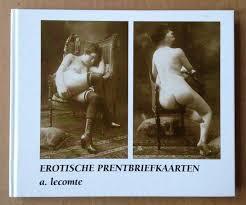 Erotische prentbriefkaarten - A. Lecomte