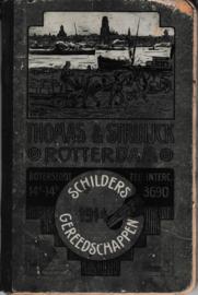 Prijs-courant schildersgereedschappen 1914 Thomas & Struijck