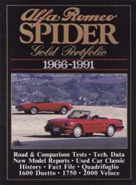 Alfa Romeo Spider  Gold Portfolio 1966-1991