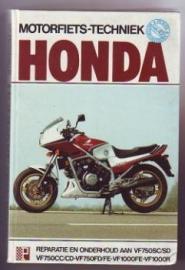 Honda motorfietstechniek Peters nr. 42
