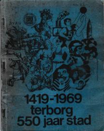 1419-1969 Terborg 550 jaar stad - D.W. Kobes