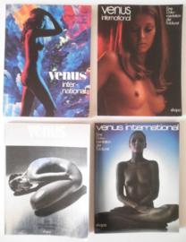 Venus international 4 st. - fototijdschrift jaren '70