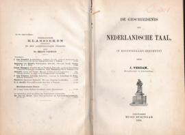 De geschiedenis der Nederlandsche taal - J. Verdam