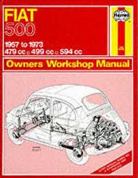 Fiat 500 Owners Workshop Manual - Haynes