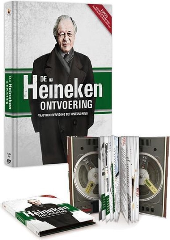 De Heineken uitvoering - boekje en 2 dvd's
