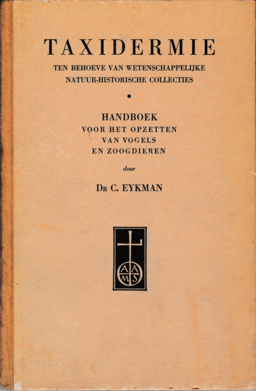 Taxidermie - Dr. C. Eykman