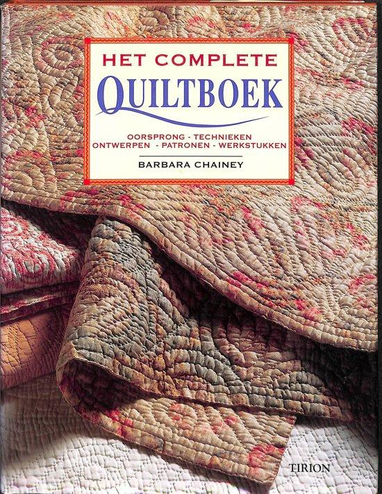Het complete quiltboek - Barbara Chainey