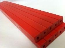 Ideal 4705 snijlatten [25 stuks rood]