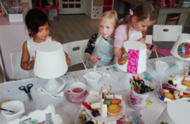 Kinderfeestje van Fiene