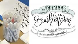 Boeken workshop brushletteren voor beginners