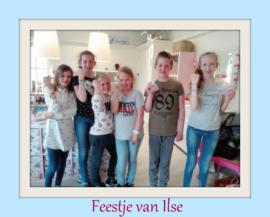 Feestje van Ilse