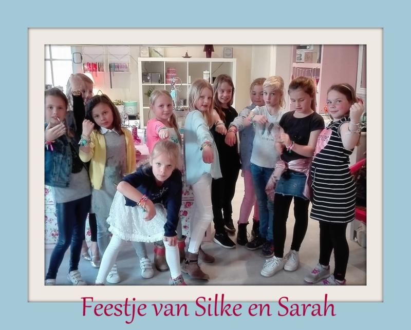 Feestje van Silke en Sarah