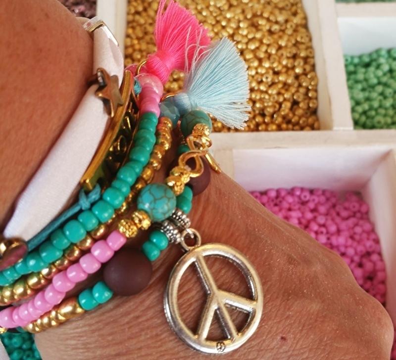 Boeken workshop Ibiza armbandjes maken