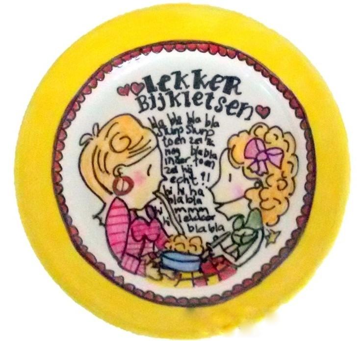 Boeken kinderfeestje servies beschilderen