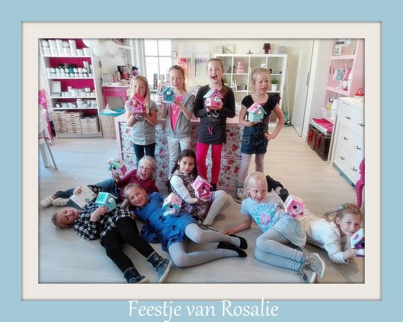 Feestje van Rosalie