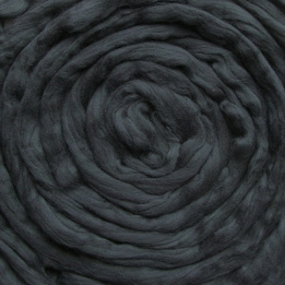 Lontwol antraciet (geverfd)