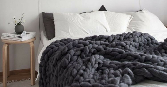 XXL deken kant & klaar