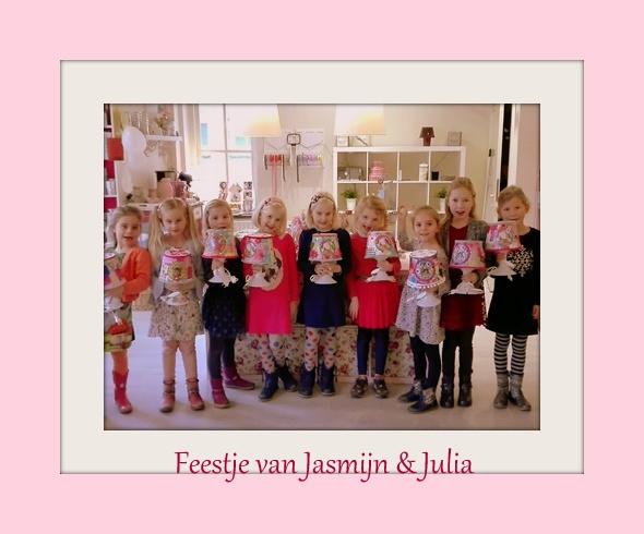 Feestje van Jasmijn & Julia