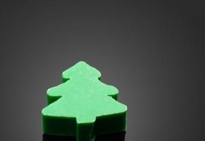 Zeep kerstboom per 100 stuks
