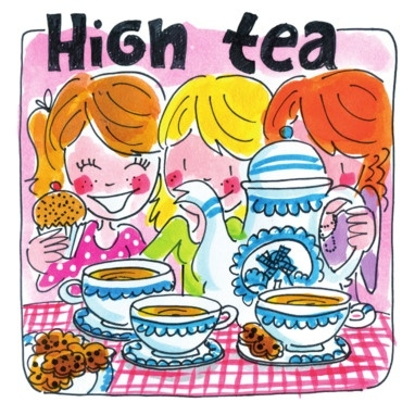 Boeken kinder high tea