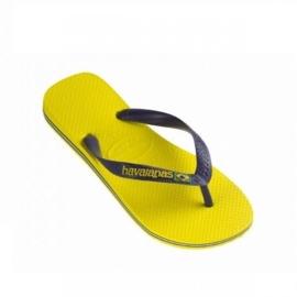 Havaianas geel met Brasil logo