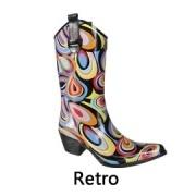 Retro cowboy festival regenlaarzen
