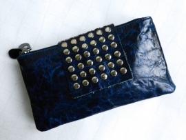 Clutch of Portemonnee - donkerblauw