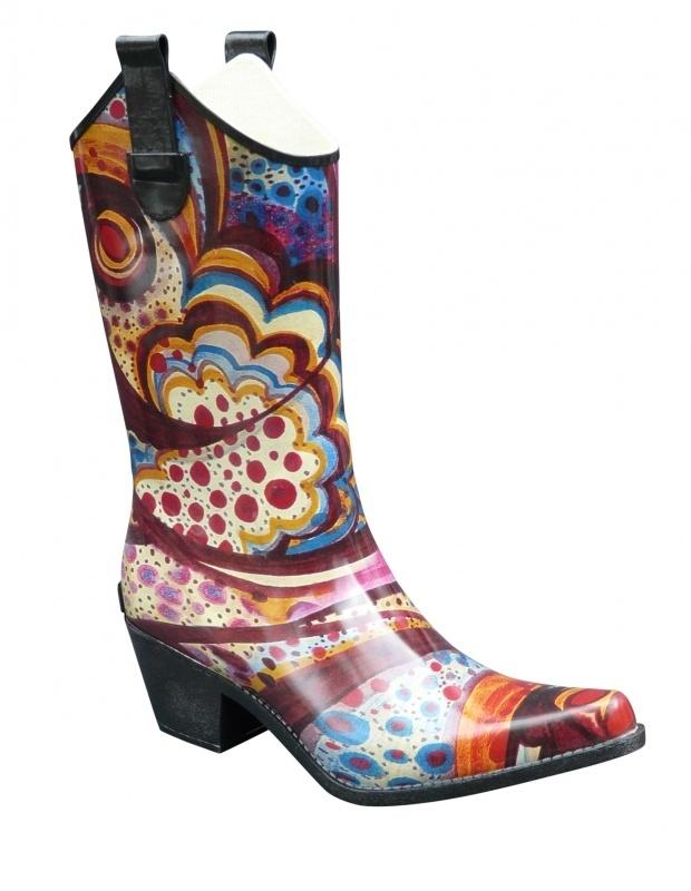 High Lizard cowboy festival regenlaarzen