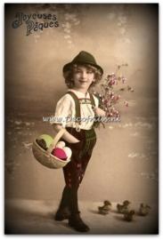 Paaskaart - Easter postcard 65