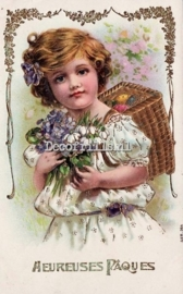 Paaskaart - Easter postcard 72