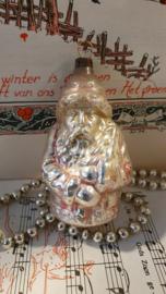 Antieke kerstbal: Sleetse kerstman
