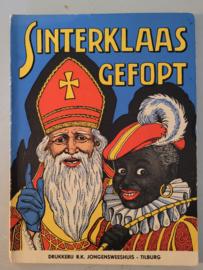 Sinterklaas gefopt 1955 Drukkerij R.K. Jongensweeshuis