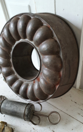 Oude Tulbandvorm in prachtig sleets patina