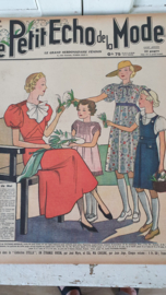 tijdschrift Le Petit ECHO de la MODE: 3 Mei 1936