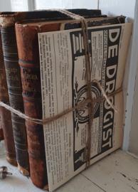 Prachtige bundel antieke Medische boeken uit 1877/1887/1905 + uitg. DE DROGIST 1940