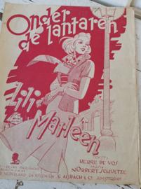 Oude bladmuziek uit 1940: LILI MARLEEN!