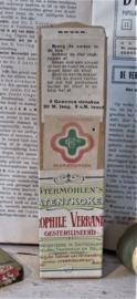 Zeldzame Utermöhlen patentkoker Hydrophile Verbandstof. ca. 1940