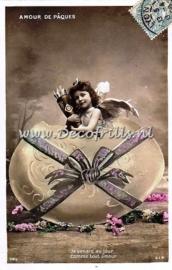 Paaskaart - Easter postcard 9