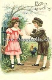 Paaskaart - Easter postcard 23