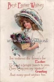 Paaskaart - Easter postcard 13