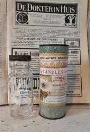 Antieke verpakking/bus: KOLA GRANULAAT - Granulés de KOLA